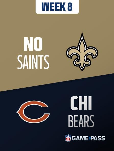 NFL 10 - Saints - Bears