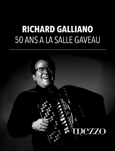 Mezzo - Richard Galliano - 50 ans à la Salle Gaveau