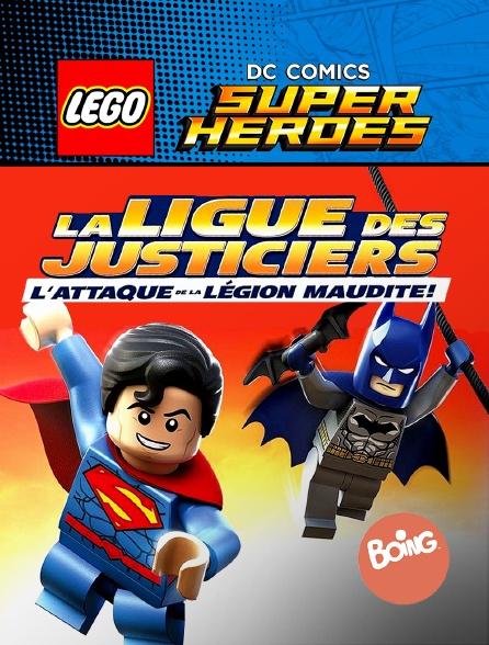 Boing - Lego DC Comics Super Heroes : La ligue des Justiciers et l'attaque de la légion maudite