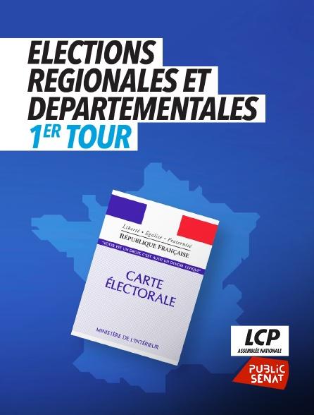 LCP Public Sénat - Elections régionales et départementales, 1er tour