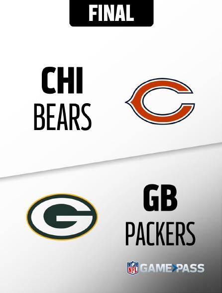 NFL 13 - Bears - Packers en replay