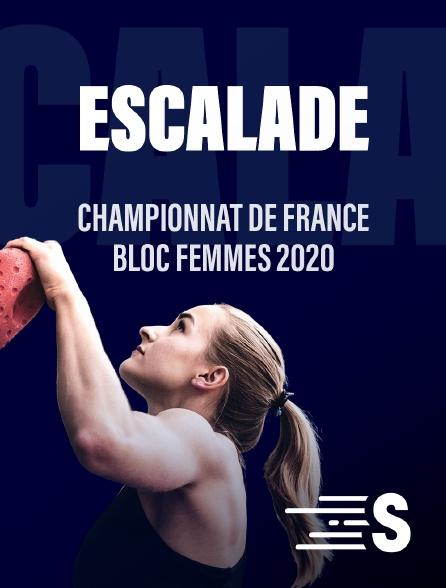 Sport en France - Escalade : Championnat de France  bloc femmes 2020