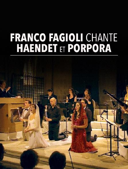 Franco Fagioli chante Haendel et Porpora