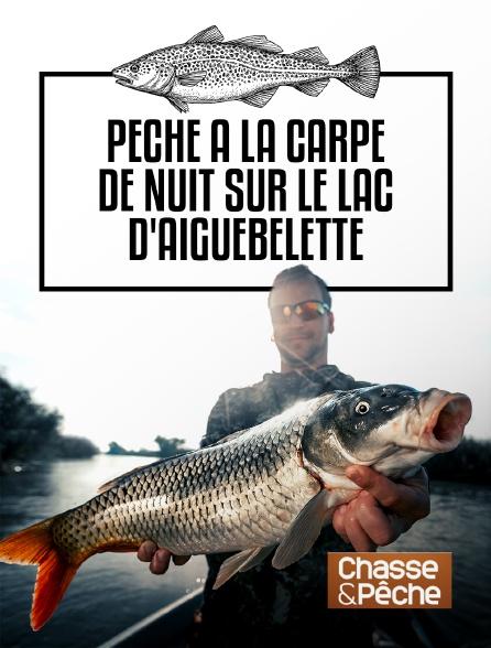 Chasse et pêche - Pêche à la carpe de nuit sur le lac d'Aiguebelette