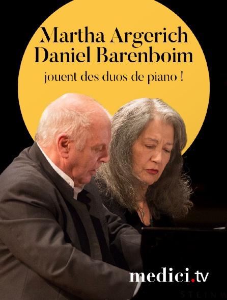 Medici - Martha Argerich et Daniel Barenboim jouent des duos de piano ! - Mozart, Schubert et Stravinsky - Berlin Philharmonie
