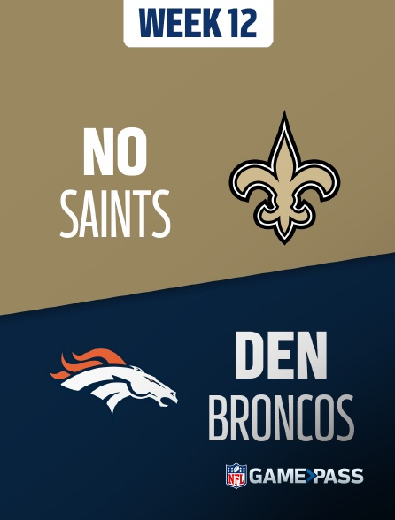 NFL 10 - Saints - Broncos