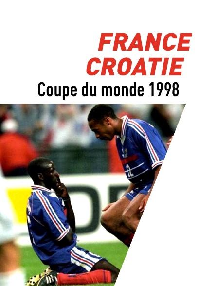 Football : Coupe du monde 1998 - France / Croatie