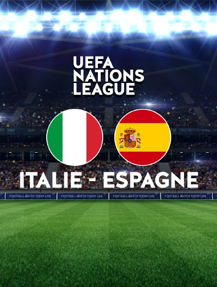 Football : Ligue des Nations UEFA - Italie / Espagne