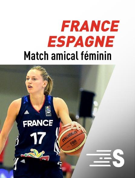 Sport en France - Basket-ball : Match de préparation à l'EuroBasket 2021 féminin