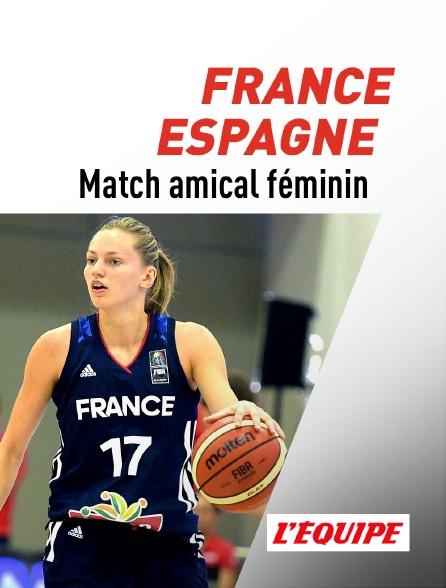 L'Equipe - Basket-ball : Match de préparation à l'EuroBasket 2021 féminin