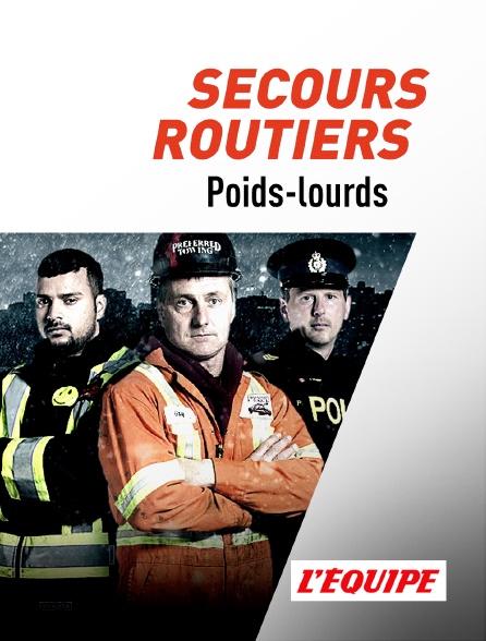 L'Equipe - Secours routiers poids-lourds