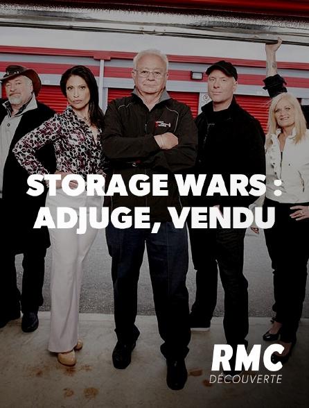 RMC Découverte - Storage Wars : adjugé, vendu