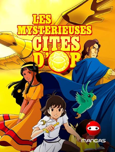 Mangas - Les mystérieuses cités d'or *2012