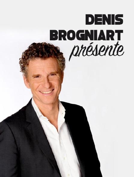 Denis Brogniart présente