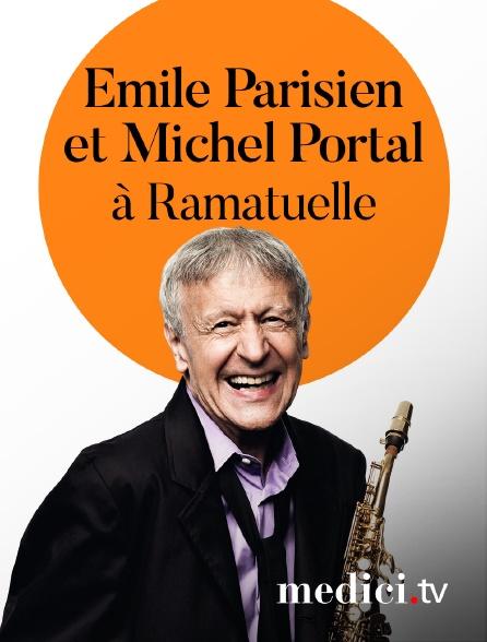 Medici - Emile Parisien et Michel Portal en concert àRamatuelle