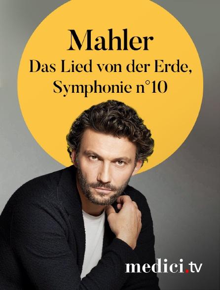 Medici - Mahler, Das Lied von der Erde, Symphonie n°10 - Claudio Abbado, Anne Sofie von Otter, Jonas Kaufmann - Berliner Philharmoniker