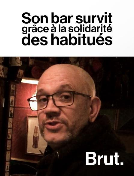 Brut - Son bar survit grâce à la solidarité des habitués