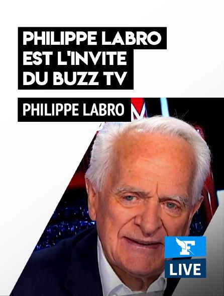 Figaro Live - Philippe Labro est l'invité du Buzz TV