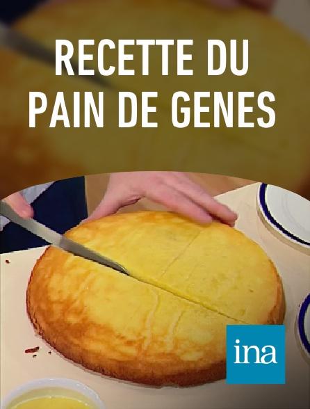 INA - Recette du pain de Gênes