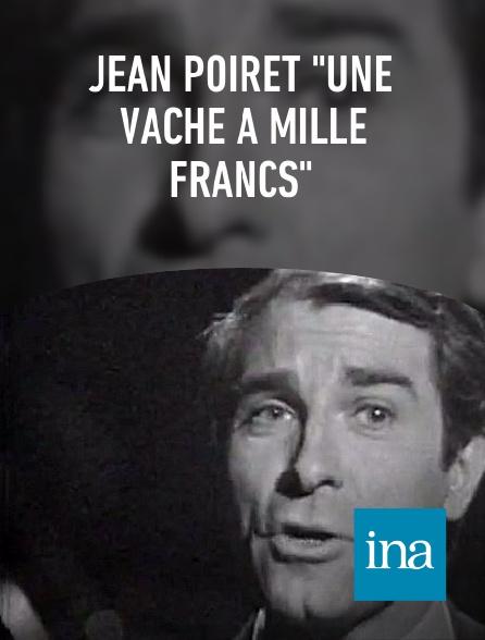 """INA - Jean Poiret """"Une vache à mille francs"""""""