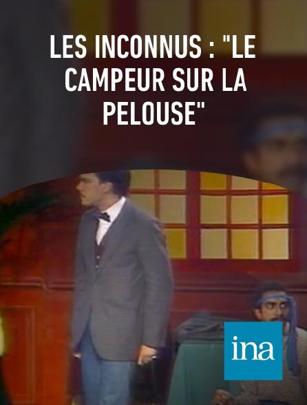 """INA - Les inconnus : """"Le campeur sur la pelouse"""""""