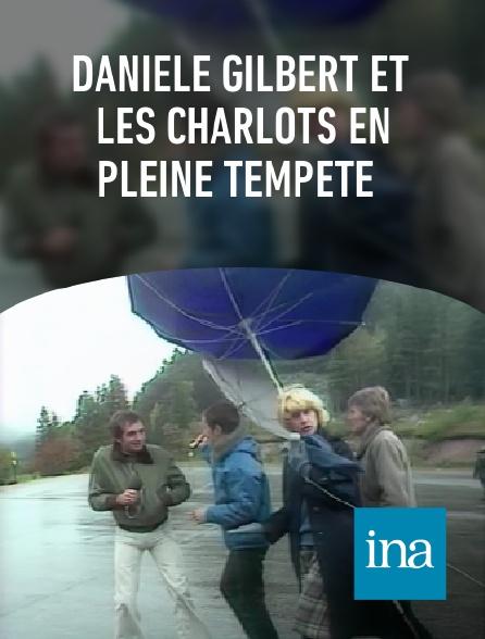 INA - Danièle Gilbert et les Charlots en pleine tempête