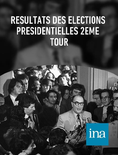 INA - Résultats des élections présidentielles 2ème tour