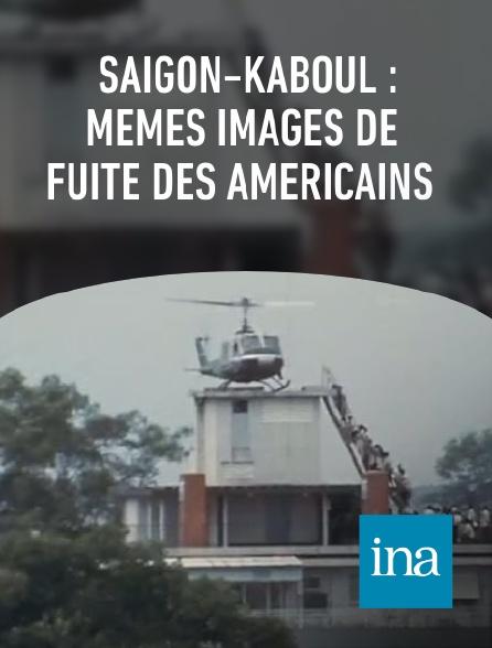 INA - Saïgon-Kaboul : mêmes images de fuite des Américains