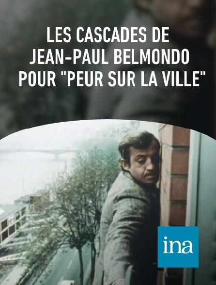 """INA - Les cascades de Jean-Paul Belmondo pour """"Peur sur la ville"""""""