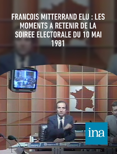 INA - François Mitterrand élu : les moments à retenir de la soirée électorale du 10 mai 1981
