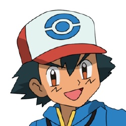 Sacha Ketchum - Personnage d'animation