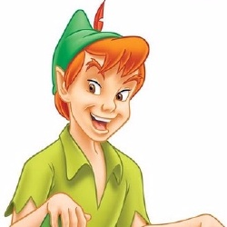 Peter Pan - Personnage d'animation