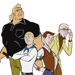 Les Venture - Personnage d'animation