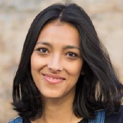 Mina Soundiram - Présentatrice