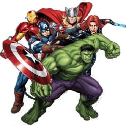 The Avengers - Personnage d'animation