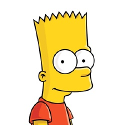 Bart Simpson - Personnage d'animation