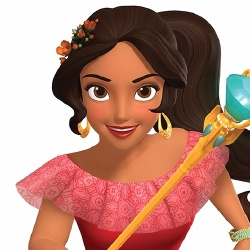 Elena d'Avalor - Personnage d'animation