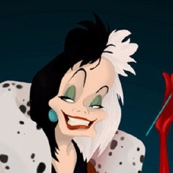 Cruella d'Enfer - Personnage d'animation
