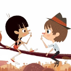 Matt et Lisa - Personnage d'animation