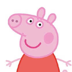Peppa Pig - Personnage d'animation