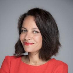 Sandrine Aramon - Présentatrice