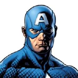 Captain America - Personnage d'animation