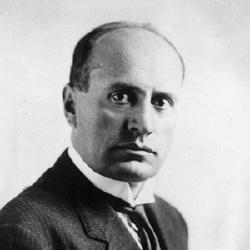 Benito Mussolini - Dictateur
