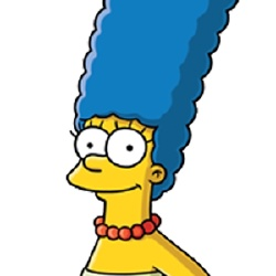Marge Simpson - Personnage d'animation