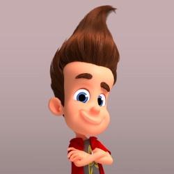 Jimmy Neutron - Personnage d'animation