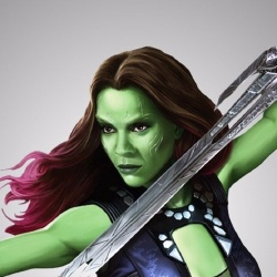 Gamora - Personnage d'animation
