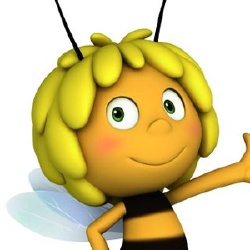 Maya l'Abeille - Personnage d'animation