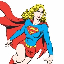 Supergirl - Personnage d'animation