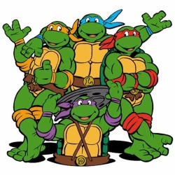 Tortues Ninja - Personnage d'animation