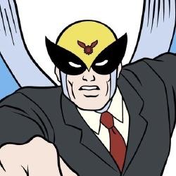 Harvey Birdman - Personnage d'animation